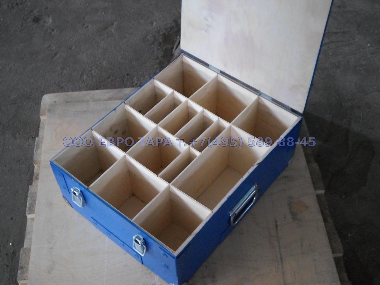 Ящик фанерный с перегородками