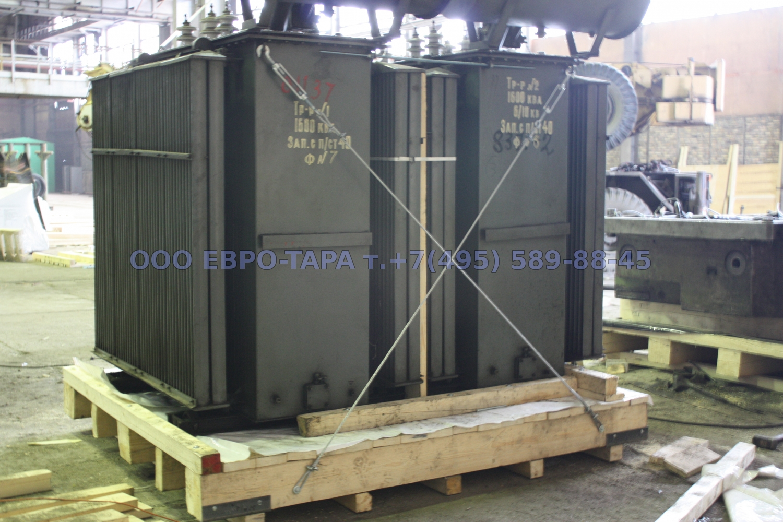 Упаковка силового трансформатора